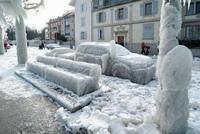 Зимний шторм в Одессе