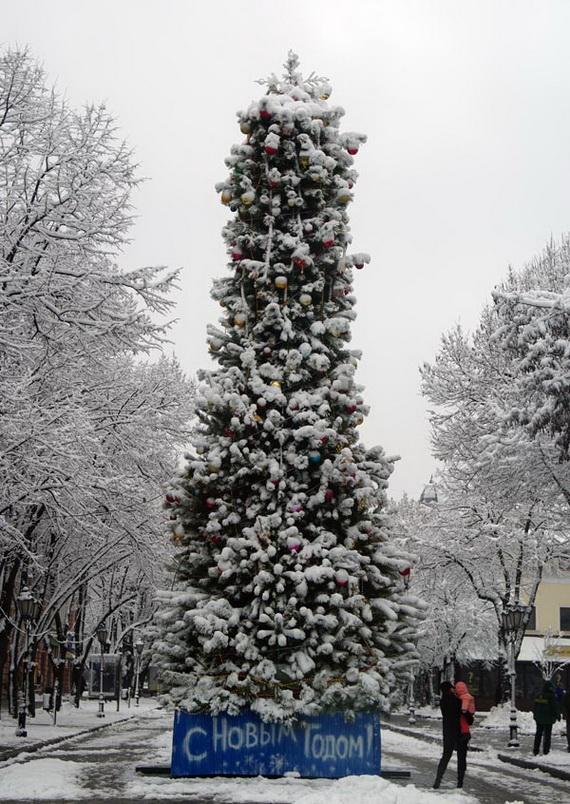 Фото - новогодняя Одесса