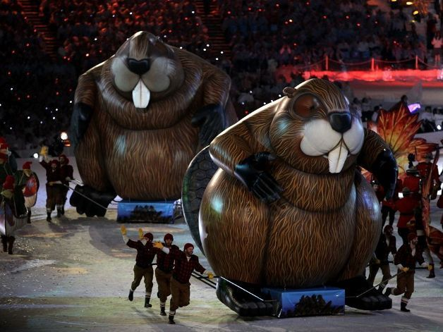 Закрытие олимпиады 2010 в Ванкувере