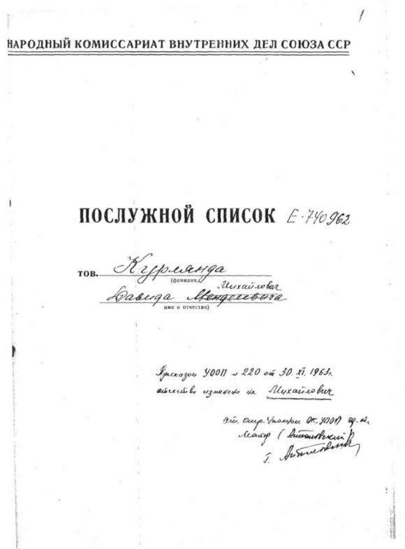 Давид Михайлович (Менделеевич) Курлянд