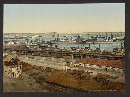 Трудовая история одесского морского порта